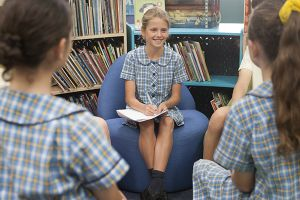 St Mary - St Joseph Catholic Primary School Maroubra - students in a meeting